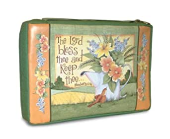 The Lord Bless Thee and Keep Thee Medium Bible Cover Study Organizer