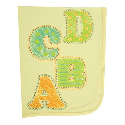 """Clever Birds Baby Blanket, Alphabet, 30"""" x 40"""""""