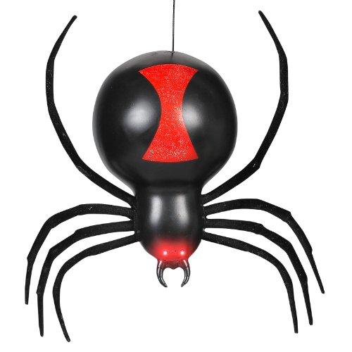 [Gemmy - Dropping Black Widow Spider Animated Prop] (Black Spider Animated Prop)