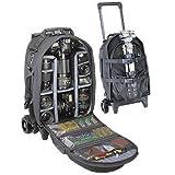Tamrac 697 Big Wheels Rolling Backpack LP7 (Black)