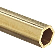 Brass C260 Hexagonal Tubing, ASTM 135