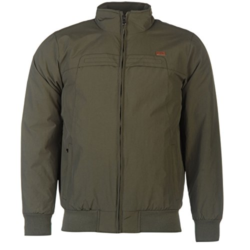 lee-cooper-bomber-chaqueta-resistente-al-agua-avion-piloto-de-manga-larga-chaqueta-bomber-caqui-xxl