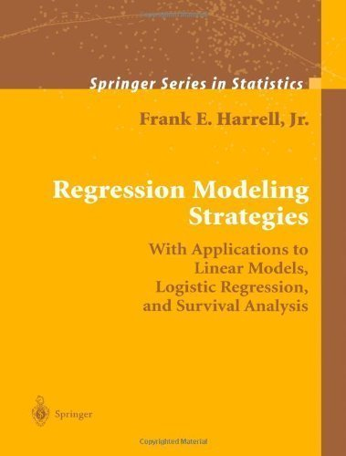 Regression Modeling Strategies: With Applications to Linear Models, Logistic Regression, and Survival Analysis by Frank E. Harrell (Dec 1 2010) (Regression Modeling Strategies compare prices)
