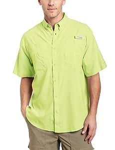 Columbia Men's Tamiami II Short Sleeve Shirt, Neon Light, X-Large