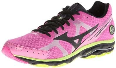 Mizuno Men's Wave Rider 17 Running Shoe,Pink,8.5 D US
