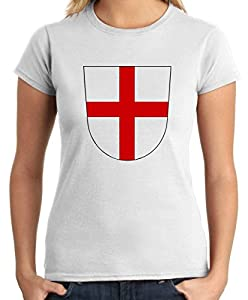 Cotton Island - T-shirt Frauen TSTEM0036 freiburg coat of arms