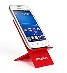 Riona Acrylic Mobile Holder / Stand - Mobihold A2 - Red MH-A2-R