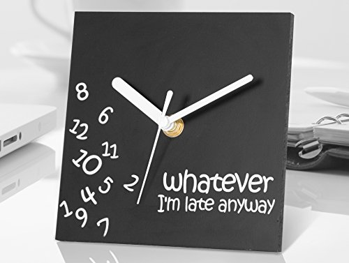 Whatever Desktop Clock by Decodyne