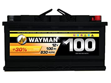 Wayman Autobatterie Test