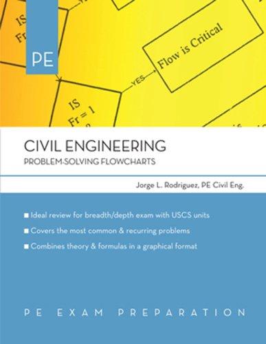Civil Engineering: Problem-Solving Flowcharts (PE Exam Preparation)