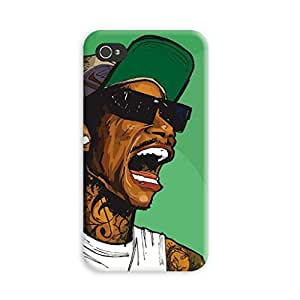 Aurmen High Quality Printed Designer Back Case Cover for Apple Iphone 4s (Dope8)