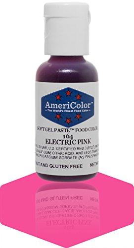 Americolor Gel Paste Food Color, Electric Pink (Americolor Electric Colors compare prices)