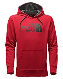The North Face Men\'s Half Dome Hoodie TNF Red/Asphalt Grey Large