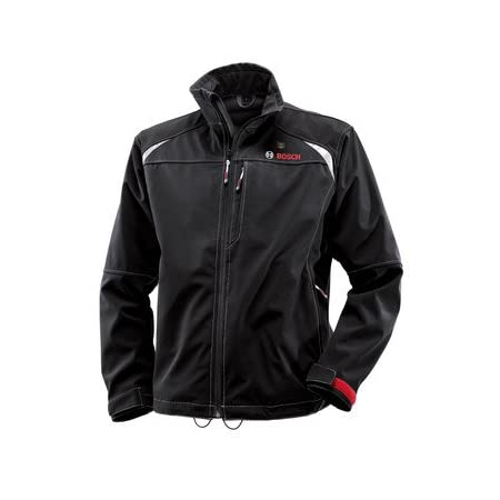 Includes 12V Max Lithium-Ion Softshell Heated Jacket - Large - PSJ120L, 12V Max Battery Holster/Backup - BHB120     The Bosch PSJ120 12-Volt Max Lithium-Ion Soft-shell Heated Jacket     The PSJ120 12-volt max heated jacket is a high quality rain and ...