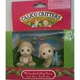 Calico Critters los Mellizos Ovejas Lambrook; Hermana Shona y el hermano Sean con biber?n y chupete (jap?n importaci?n)