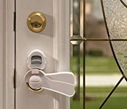 Kidco Door Lever Lock - Clear