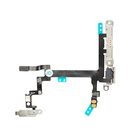 Original Quality iPhone 5Power Button cavo Flex Volume muto un interruttore con supporti morsetti premonatata per erleic hterten Umbau
