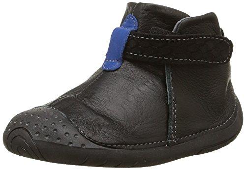 Babybotte - Zak2, Baby Shoes per bimbi, nero (005 noir/bleu), 16