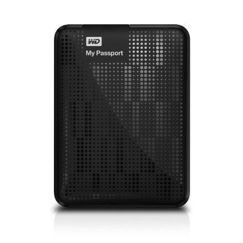 Wd My Passport 1Tb Portable External Hard Drive Storage Usb 3.0 Black front-275399