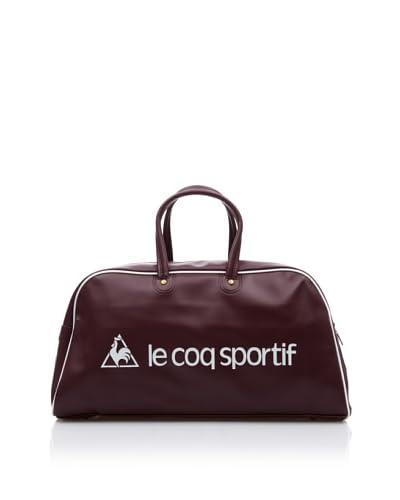 Le Coq Sportif Bolsa de Deporte Sac Bowling Vintage Retro Burdeos