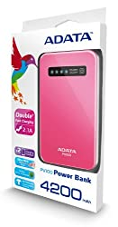 Adata PV100 4200mAH Power Bank (Pink)