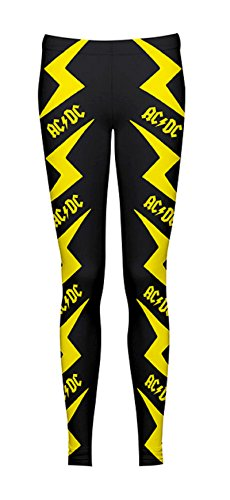 AC/DC -  Leggings  - Donna nero Medium