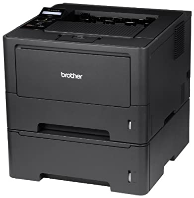 Brother High-Speed Monochrome Laser Printer with Wireless Networking, Duplex and Dual Paper Trays (HL5470DWT), Amazon Dash Replenishment Enabled
