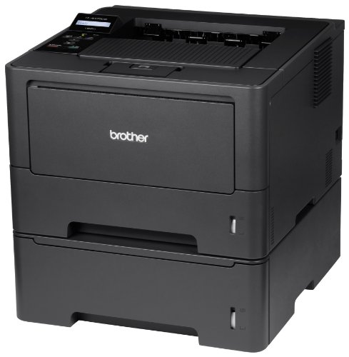 Brother High-Speed Monochrome Laser Printer with Wireless Networking, Duplex and Dual Paper Trays (HL5470DWT)