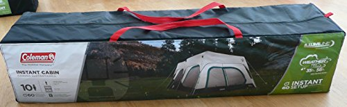 Coleman Instant 10 Person Cabin Tent with Rain Fly 2 Rooms 6 Ft 4 In Center Height : coleman instant 6 tent - memphite.com