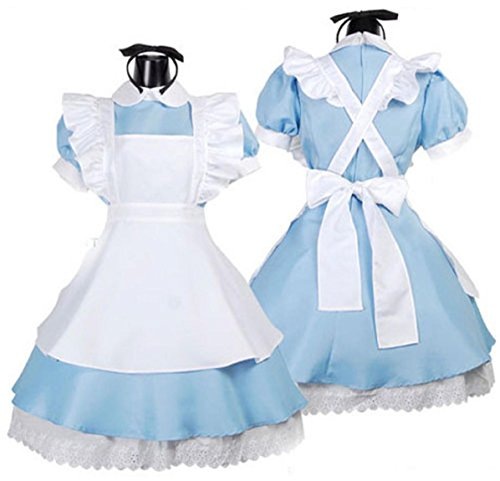 WenMei Women's Alice In Wonderland Sexy Maids Halloween Maid Costume Cosplay