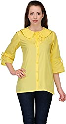 Belle Casual 3/4 Sleeve Solid Women's Top (BC 64_38)