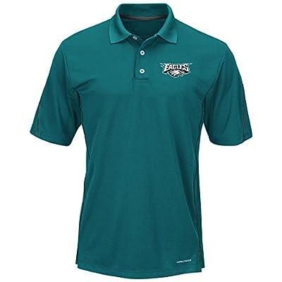 "Philadelphia Eagles Majestic ""Field Classic"" Men's Cool Base Polo Shirt - Green"