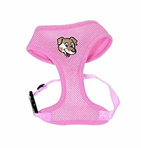 Doggy Things Pink Softy Harness Xlarge