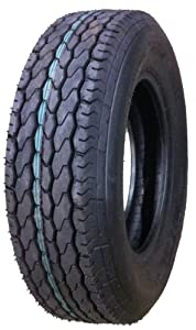 One New Vail Brand Trailer Tire ST 205/75D15 - 11021