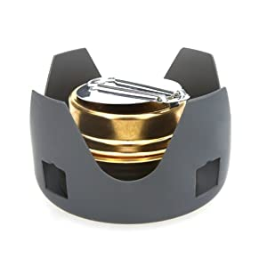 Docooler Portable Mini Ultra-light Spirit Burner Alcohol Stove Outdoor Backpacking Hiking Camping Furnace with Stand by Docooler