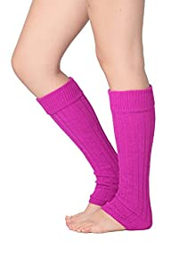 Isadora Paccini Women's Ribbed Leg Warmers