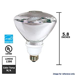 Feit Electric ESL23PAR38H/ECO 120-Watt Equivalent Reflectors CFL Bulb by Feit Electric Company