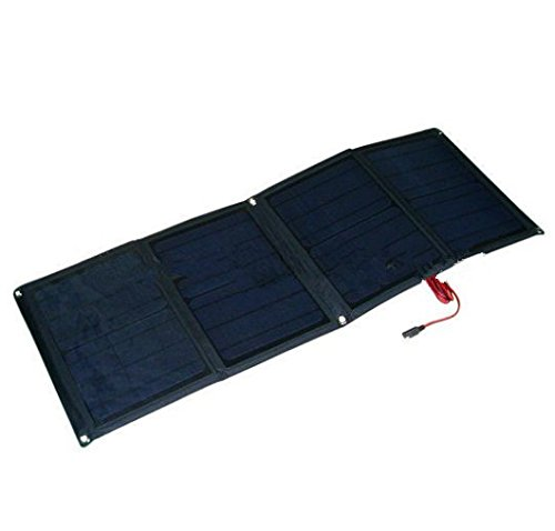 GOWE 40W folding solar panel kit /12V battery charger for motorhome,caravan,boat,camping (40w Solar Panel Folding compare prices)