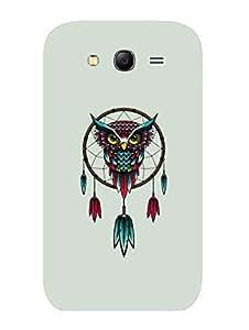 Samsung Grand 3 Back Cover - Owl Dreamcatcher - Designer Printed Hard Shell Case