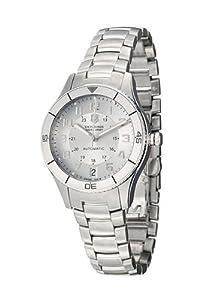 Victorinox Damen-Armbanduhr XS Ambassador Clous De Paris AnalogAutomatik Edelstahl 241189