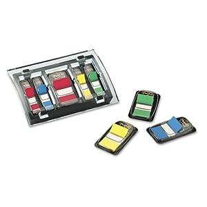 Post-it Flag Organizer, Black, Designer Series, Holds Three 1-Inch or Six 1/2-Inch Flag Dispensers