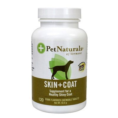Pet Naturals Of Vermont Skin And Coat Support - 120 Ct
