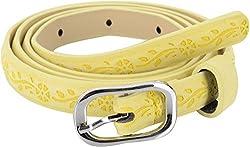 SRI Women's Belt (Yellow)