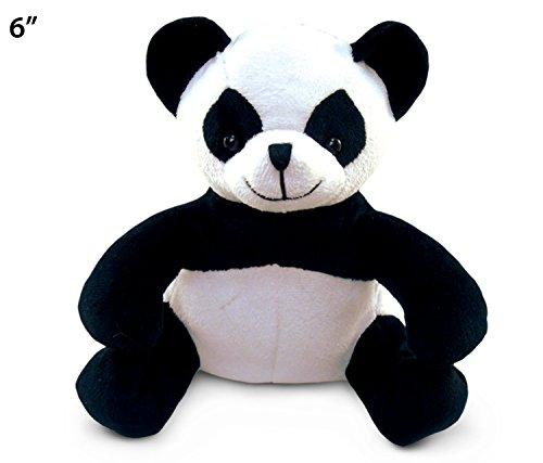 "Puzzled Panda Plush, 6"" - 1"