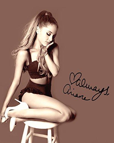 Ariana Grande # 510x 8de laboratoire de qualité Signé Impression photo