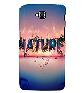LG G PRO LITE NATURE Back Cover by PRINTSWAG
