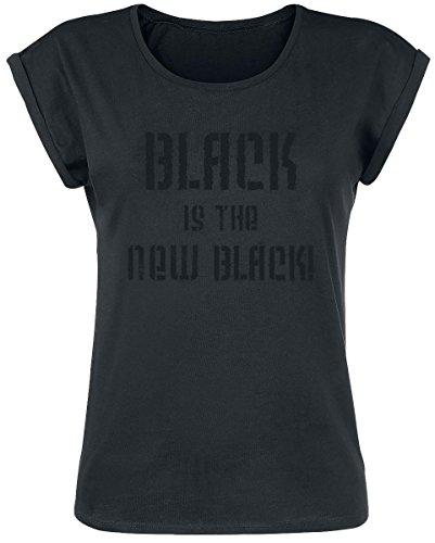 Black Is The New Black! Maglia donna nero M