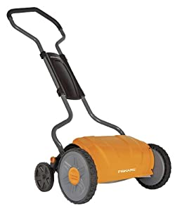 Fiskars 6208 17-Inch Staysharp Push Reel Lawn Mower by Fiskars Garden