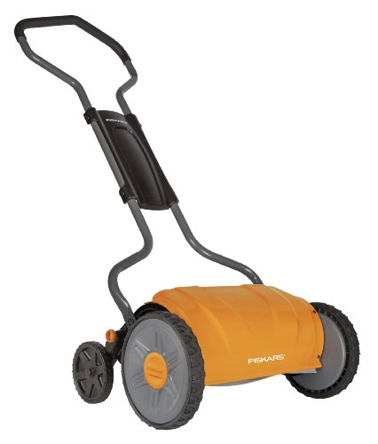 Fiskars 6208 17-Inch Staysharp Push Reel Lawn Mower