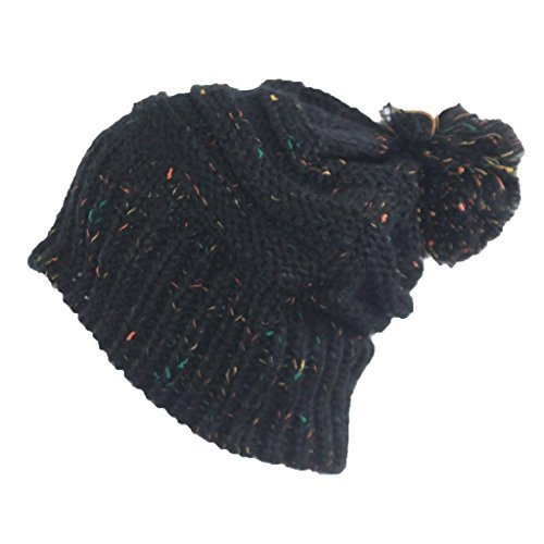 Louise23 -  Berretto in maglia  - Donna nero Taglia unica